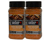 Weber Tangy Mustard Carolina BBQ Seasoning and Rub 2 x 8oz 227g
